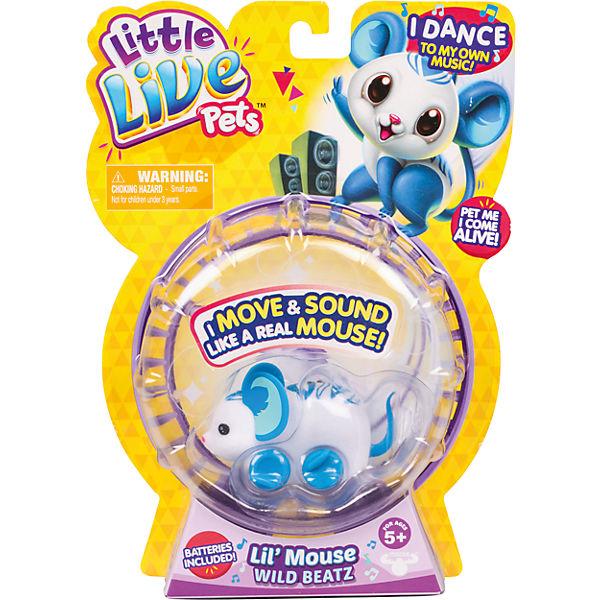 Интерактивная мышка Wild Beatz, Little Live Pets, Moose