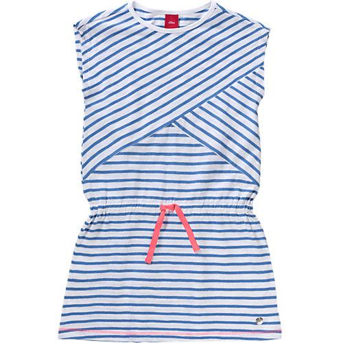 s.Oliver Kinder Jerseykleid Gr. 116 Mädchen Kleinkinder Sale Angebote