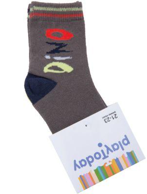 Носки для мальчика PlayToday - темно-серый