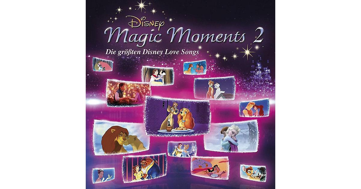 CD Disney Magic Moments 2 - Die größten Disney ...