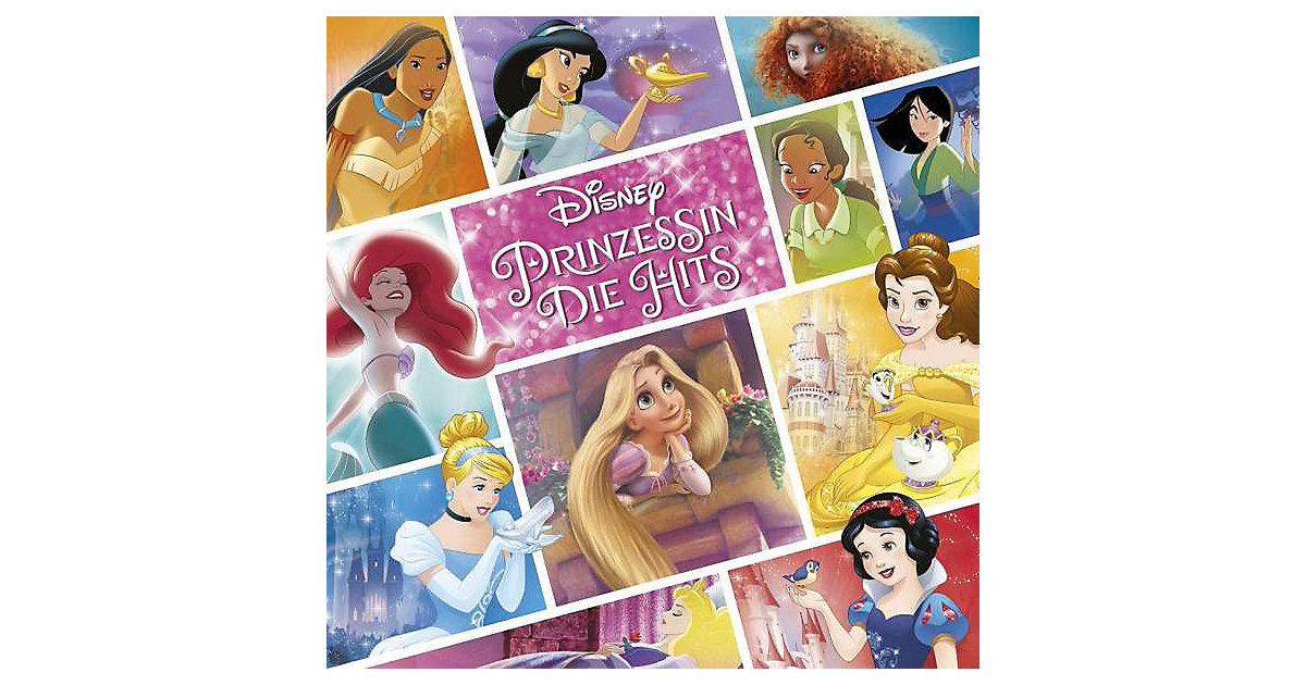 CD Disney Prinzessin - Die Hits (Deluxe Edition...