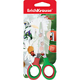 Ножницы Erich Krause Junior Decor Summer с принтом на лезвиях, 13 см