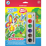 "Игровой 3D-пазл для раскрашивания ""Бабочка"", Artberry"