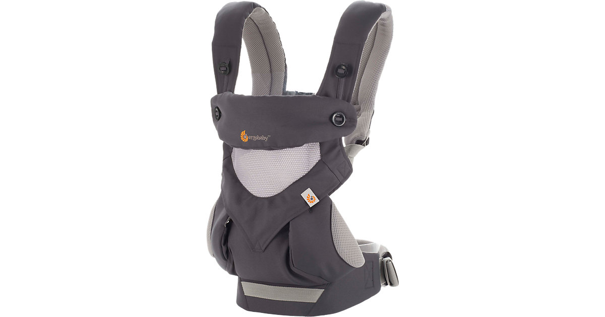 ERGO · Babytrage 360° Cool Air, Carbon/Grey