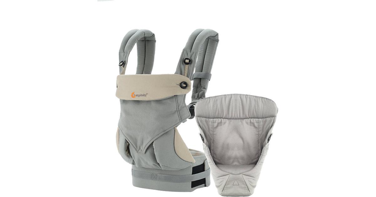 ERGO · Von-Geburt-an-Paket Babytrage 360°, Grey/Taupe