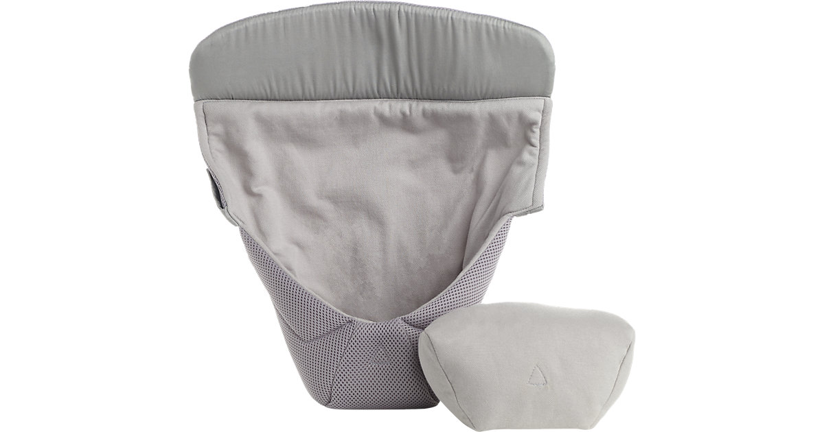 Neugeborenen-Einsatz Easy Snug, Cool Air Mesh, Grey grau