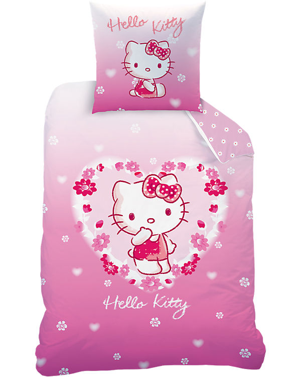 Wende Kinderbettwäsche Hello Kitty 135 X 200 Cm Hello Kitty Mytoys
