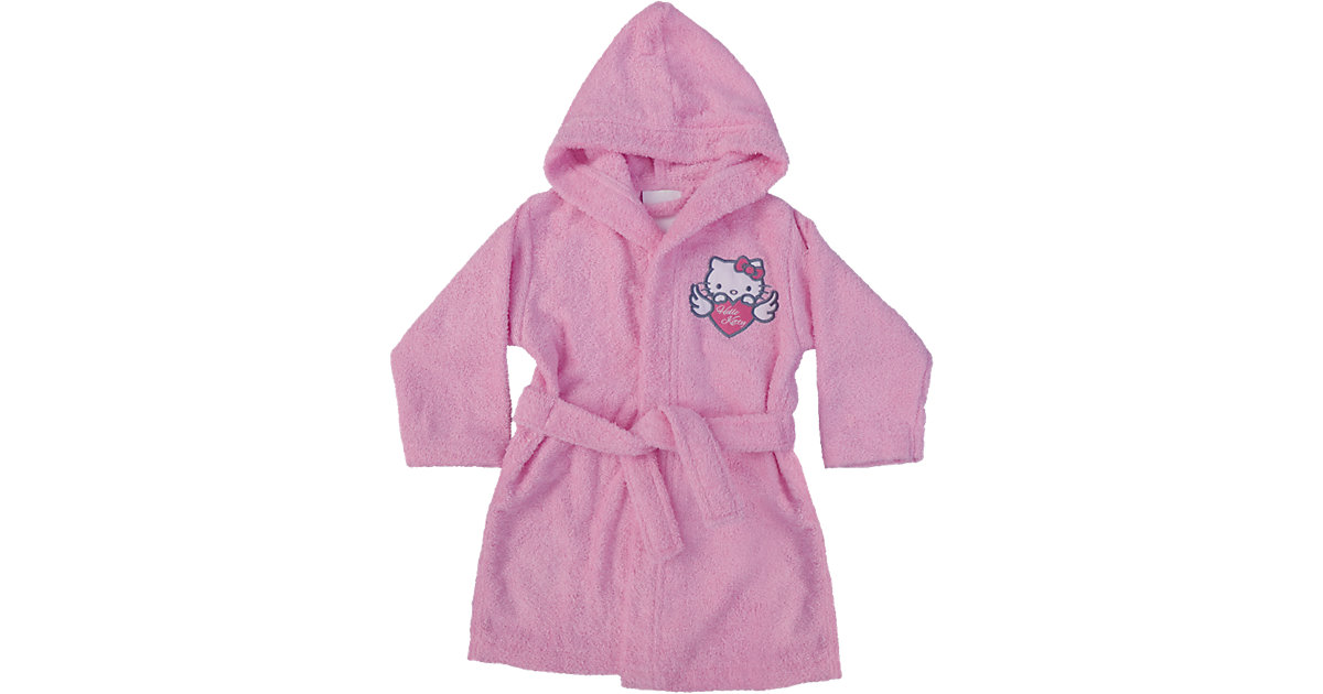 CTI · Bademantel Hello Kitty Wings Gr. 116/128 Mädchen Kinder
