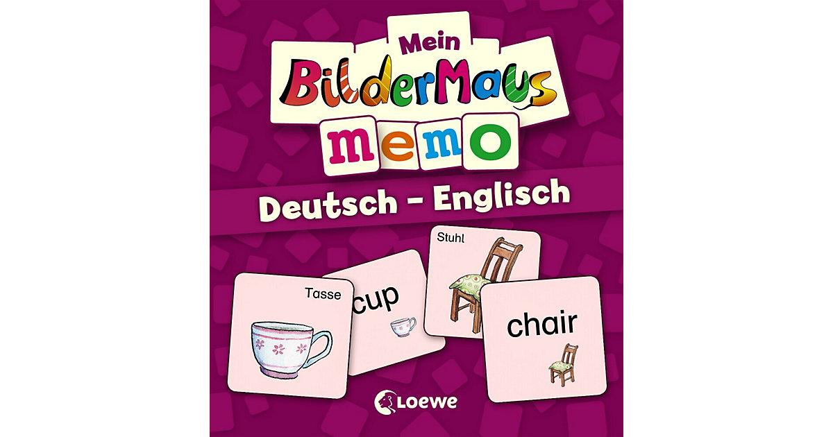Mein Bildermaus-Memo: Deutsch - Englisch