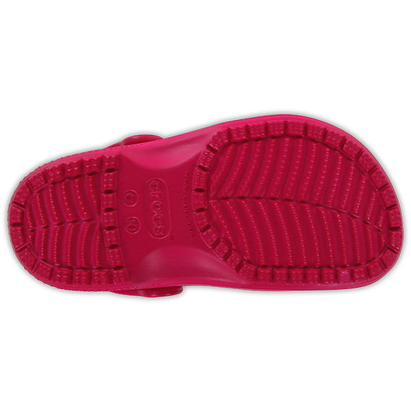 Сабо Classic clog CROCS, розовый