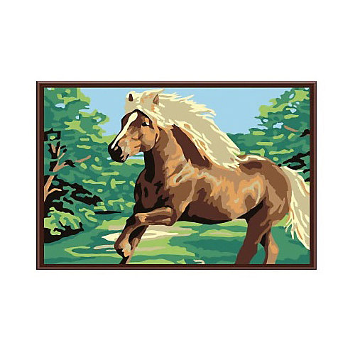 """Набор юного художника """"Лошадка"""", 20*30 см от Molly"""
