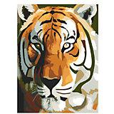 """Картина по номерам """"Тигр"""", 40*50 см"""