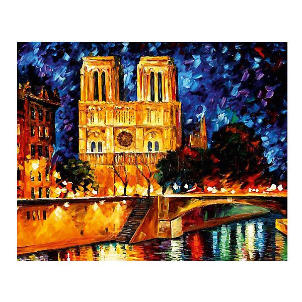 """Картина по номерам """"Афремов: Собор Парижской Богоматери"""", 40*50 см"""