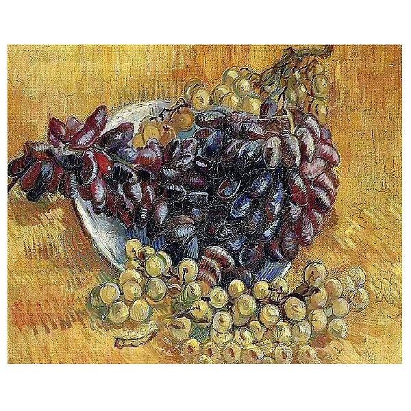 "Картина по номерам ""Ван Гог: Натюрморт с виноградом"", 40*50 см"