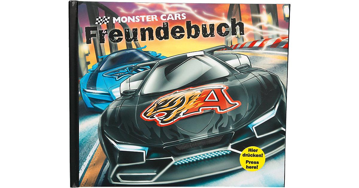 Monster Cars Freundebuch mit Licht und Sound