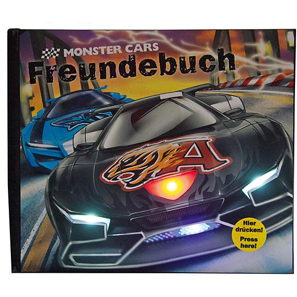 Monster Cars Freundebuch Mit Licht Und Sound Depesche Mytoys