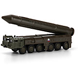 Модель РСЗО Тополь, с ракетой, ТЕХНОПАРК