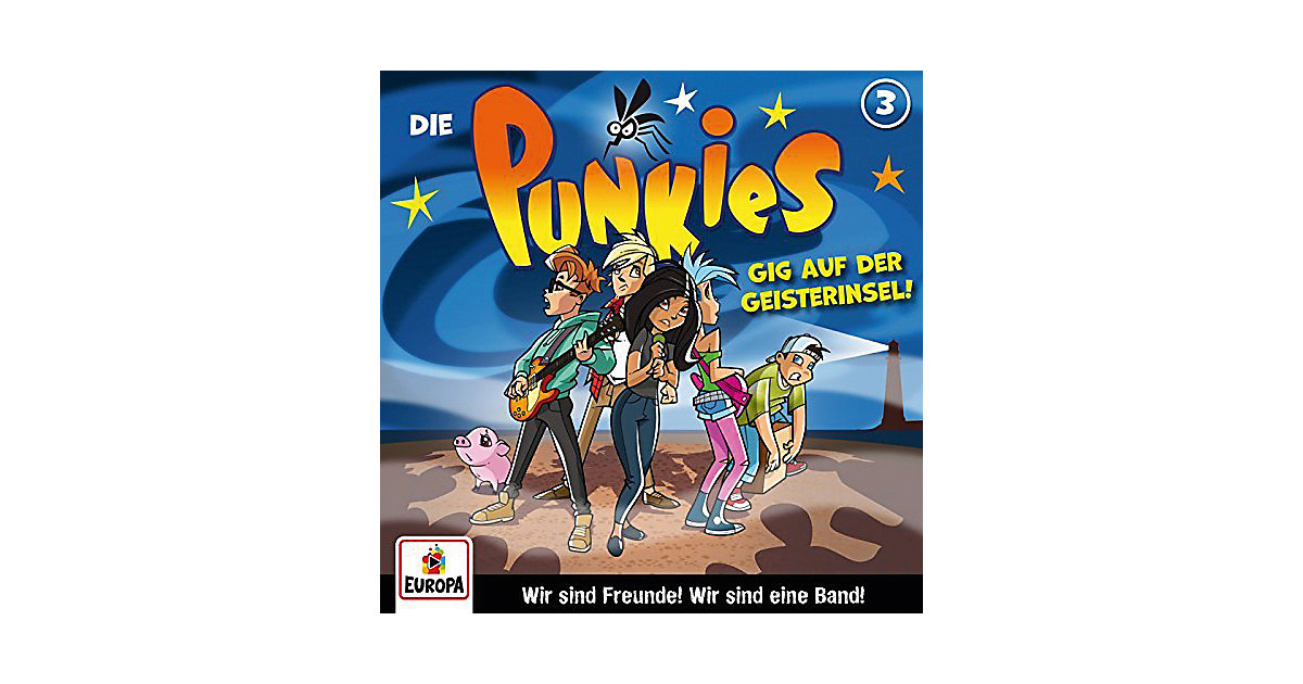 CD Die Punkies 03 - Gig auf der Geisterinsel