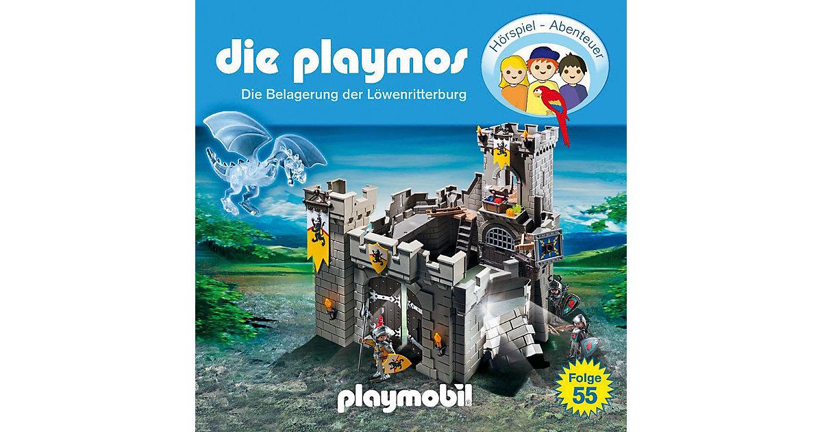 CD Die Playmos 55 - Die Belagerung der Löwenrit...