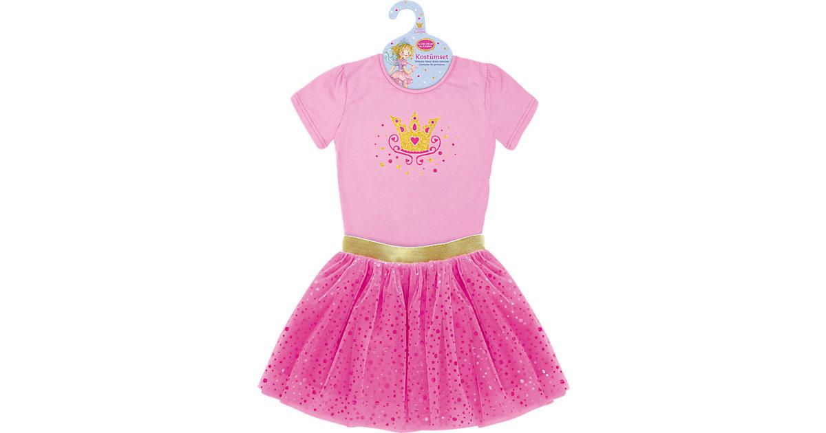 """Kostümset Prinzessin Lillifee """"Ich bin Prinzessin!"""" pink/rosa Gr. 110/116 Mädchen Kleinkinder"""