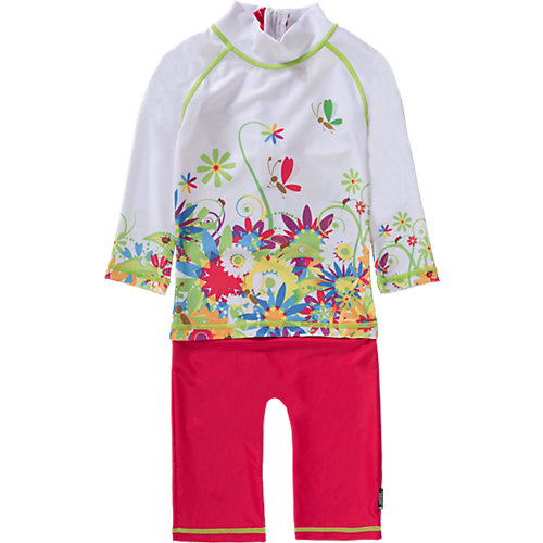 Kinder Schwimmanzug mit UV-Schutz Gr. 98/104 Mädchen Kleinkinder | 07394437349195