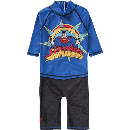 Schwimmanzug SUPERMAN mit UV-Schutz Gr. 98/104 Jungen Kleinkinder | 07394437348235