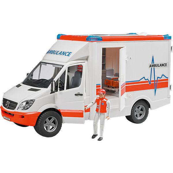 Bruder mercedes benz sprinter ambulanz