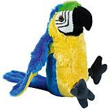 Мягкая игрушка Wild republic CuddleKins Сине-жёлтый ара, 33 см