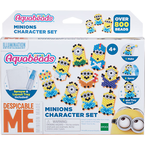 Aquabeads Minions Figurenset