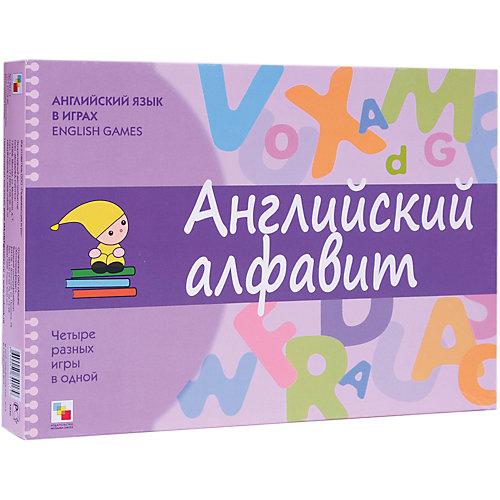 """Карточки """"Английский язык в играх: английский алфавит"""", Школа семи гномов от Мозаика-Синтез"""