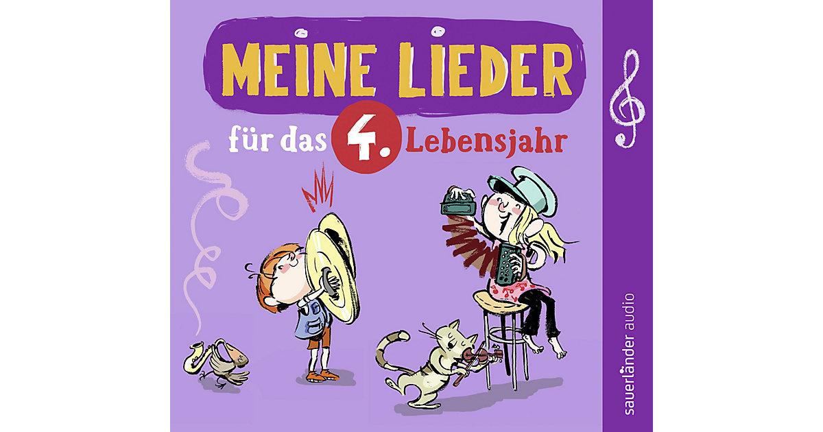 CD Meine Lieder das 4.Lebensjahr Kleinkinder