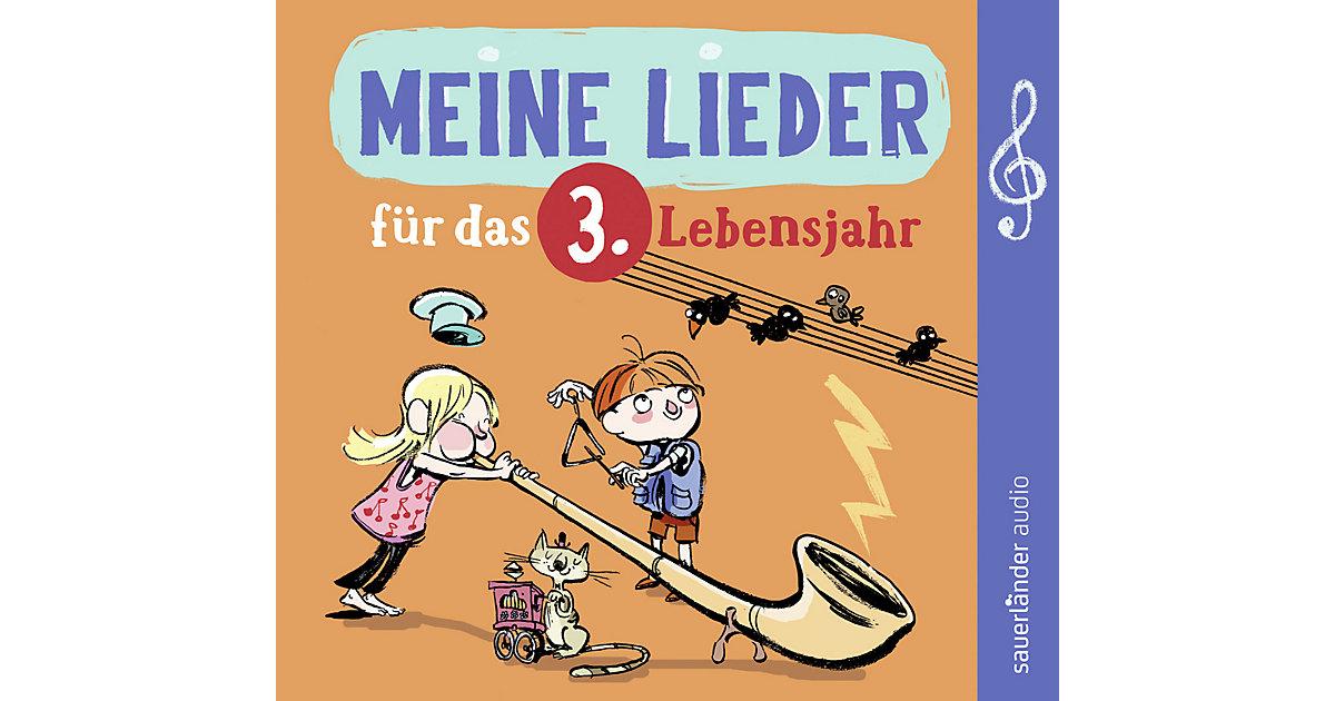 CD Meine Lieder das 3.Lebensjahr Kleinkinder