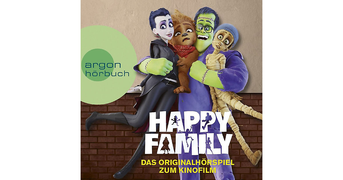 CD Happy Family - Original Hörspiel zum Kinofilm
