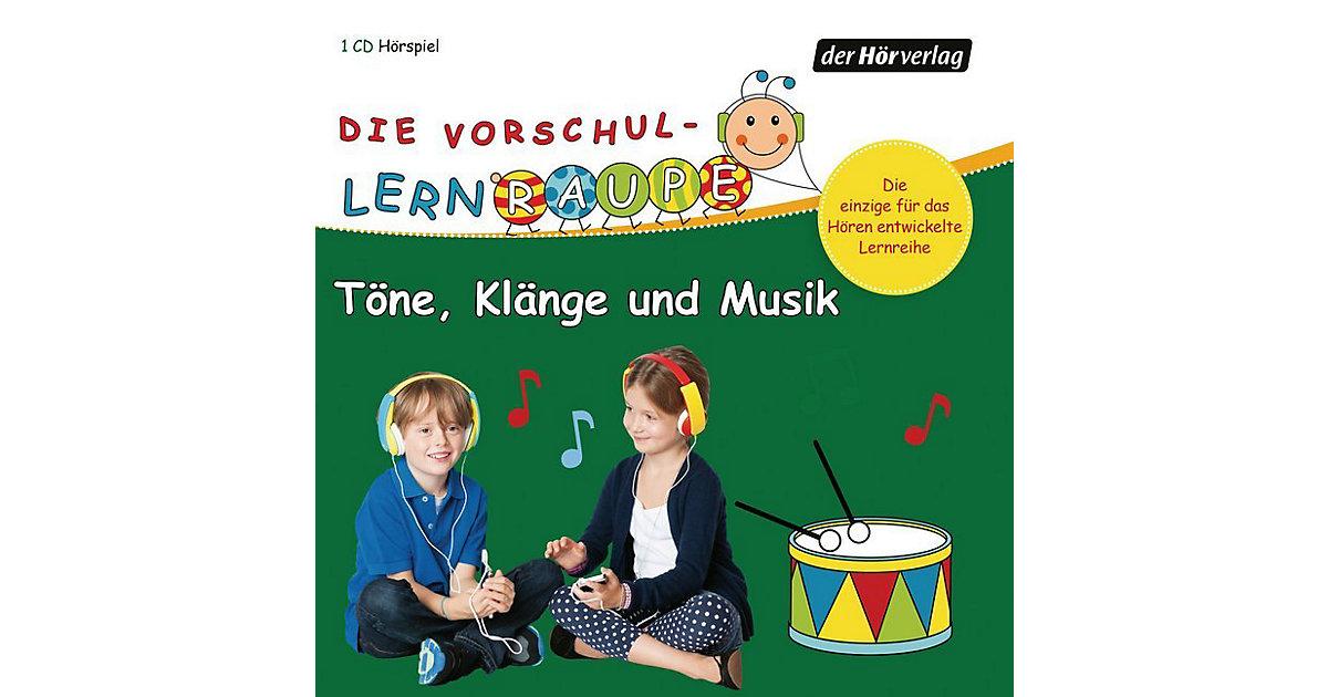 CD Die Vorschul-Lernraupe - Töne, Klänge und Musik Hörbuch