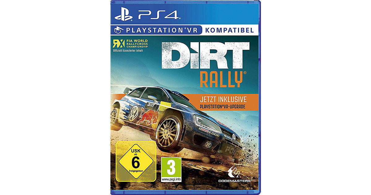 PS4 DiRT Rally plus VR Upgrade