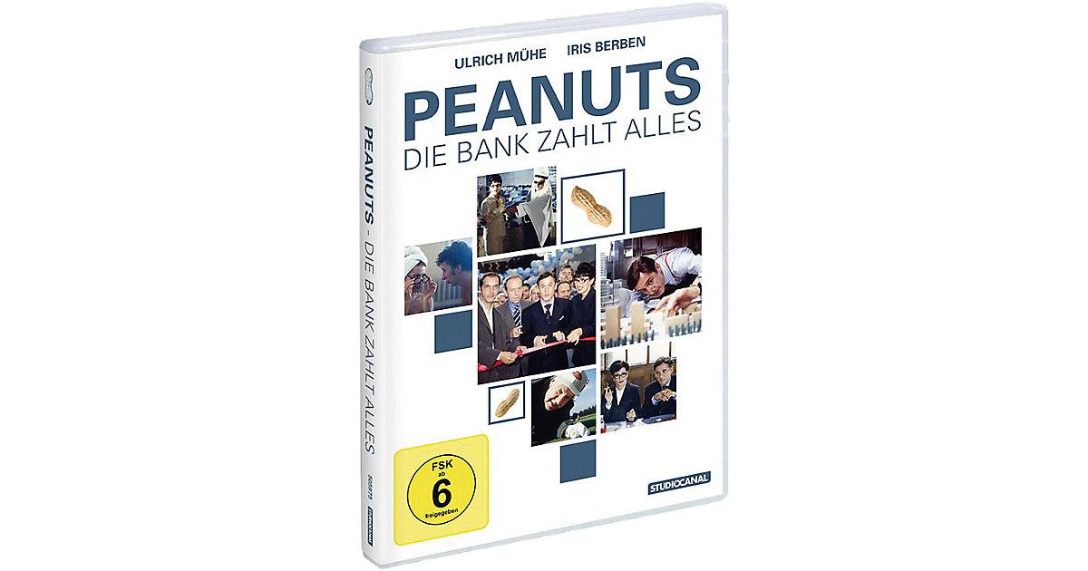 DVD Peanuts - Die Bank zahlt alles