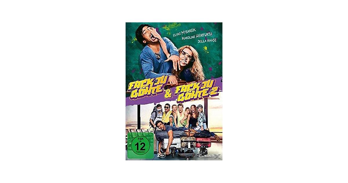 DVD Fack Ju Göhte 1 & 2 (2 DVDs) Hörbuch