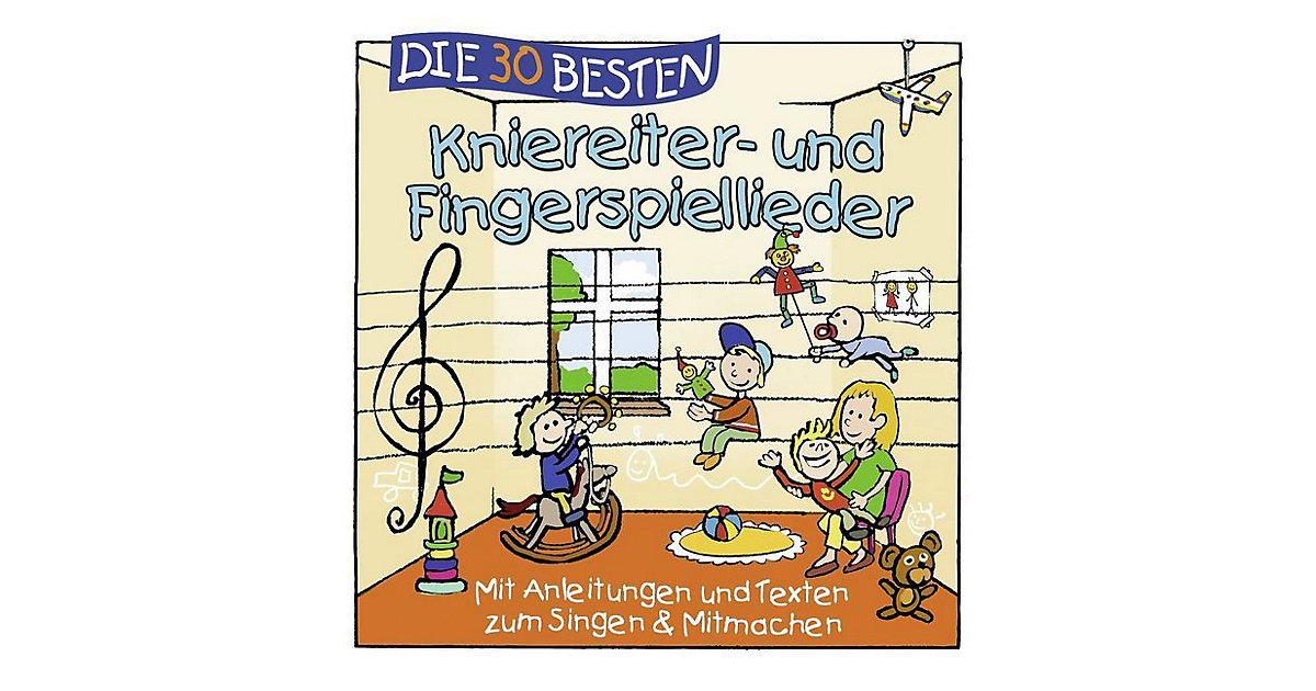 CD Die 30 Besten Kniereiter- und Fingerspiellieder