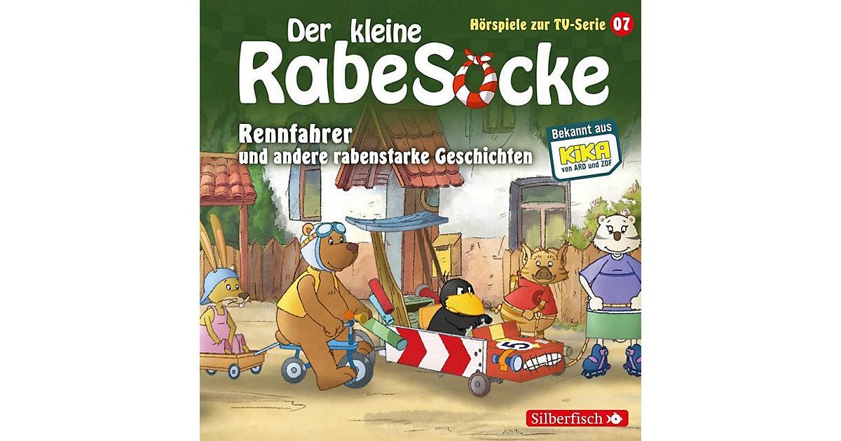 CD Der Kleine Rabe Socke 07: Rennfahrer Hörbuch