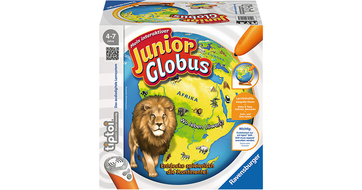 tiptoi® Mein interaktiver Junior Globus (ohne Stift)