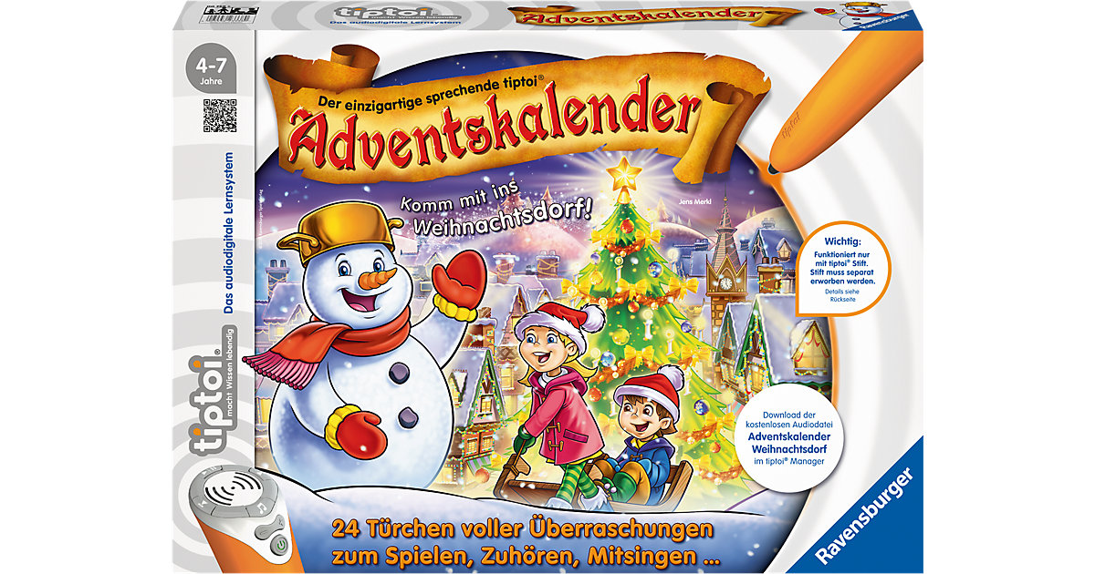 tiptoi® Adventskalender - Das Weihnachtsdorf (ohne Stift)