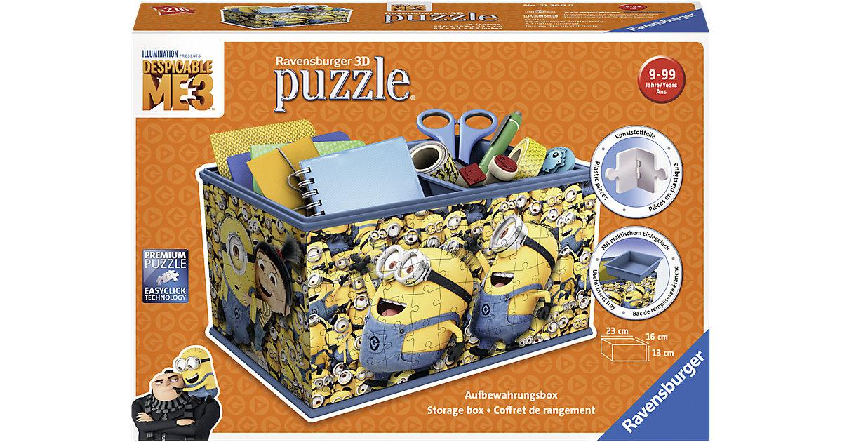 Aufbewahrungsbox 3D Puzzle - Minions Ich - Einf...