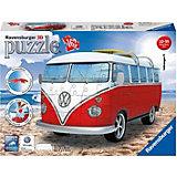 3D Пазл VW Bus T1, 162 эл.