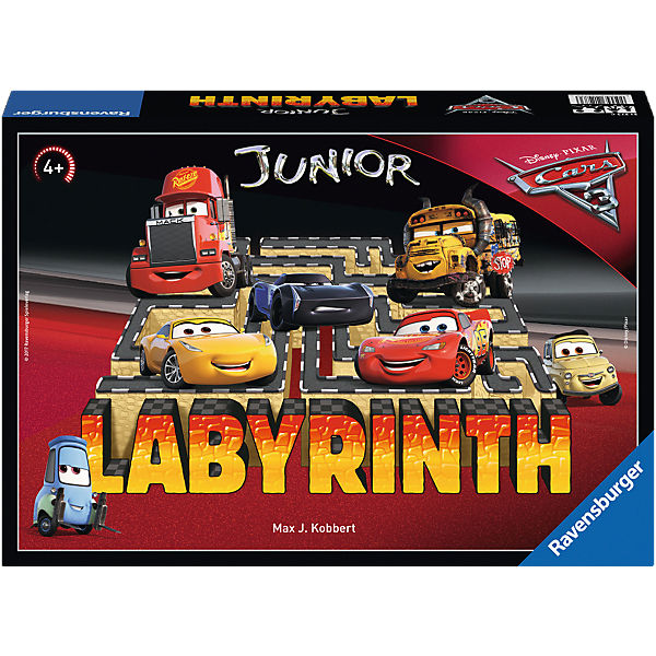 Disney/Pixar Cars 3 Junior Labyrinth