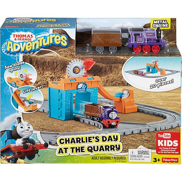 """Игровой набор """"Паровозик Чарли за работой"""", Томас и его друзья"""