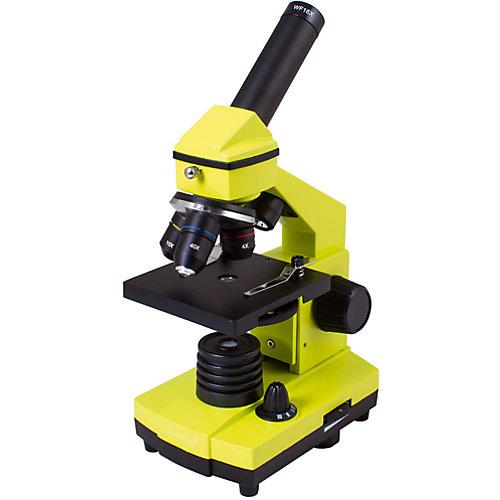 Микроскоп Levenhuk Rainbow 2L PLUS Lime\Лайм от Levenhuk