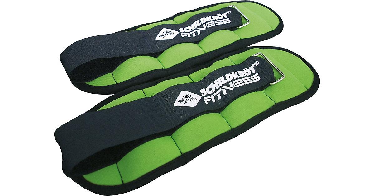 Gewichtsmanschette Arm-Bein 0,5kg Set grün/anthrazit