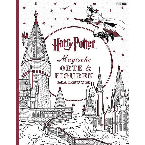 Harry Potter: Magische Orte & Figuren, Malbuch, Harry Potter | myToys