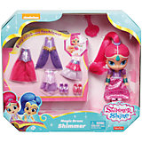 Мини-кукла Fisher-Price «Шиммер и Шайн» Шиммер в сверкающем наряде, 16 см