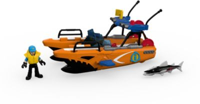 Спасательная турбо-лодка, Imaginext, Fisher Price
